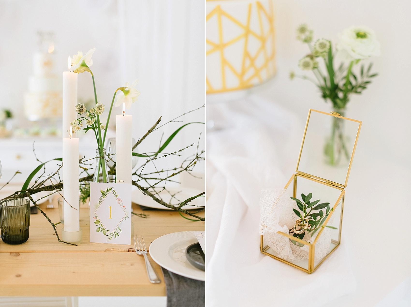Frühlingshafte Hochzeitseinladung Botanical